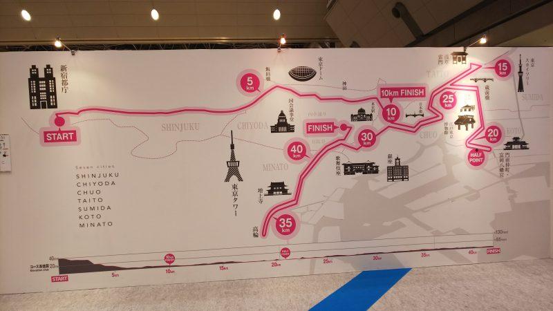 東京マラソン_コース