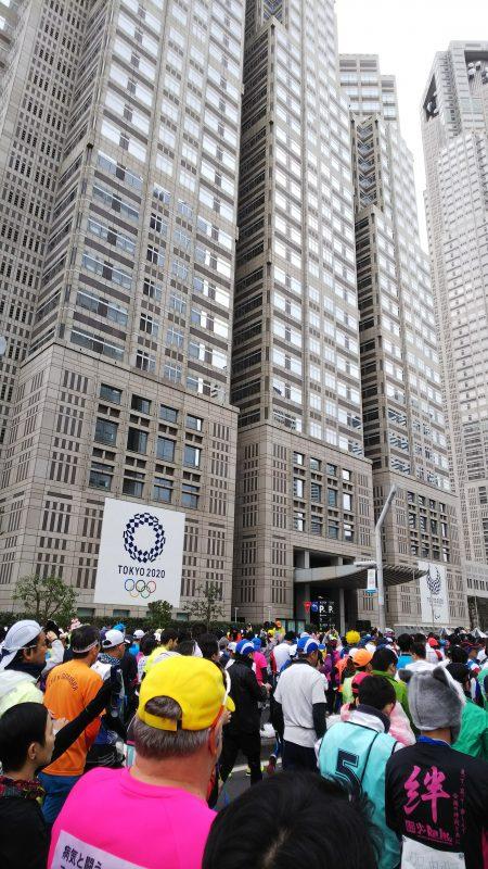 東京マラソン_スタート2