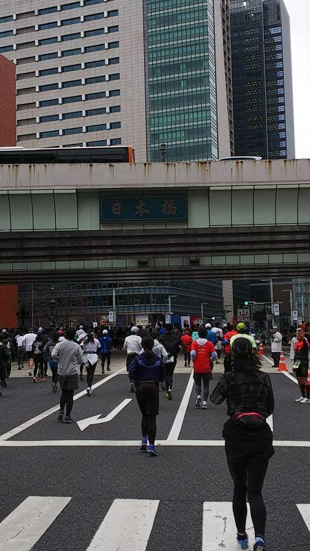 東京マラソン_日本橋_小